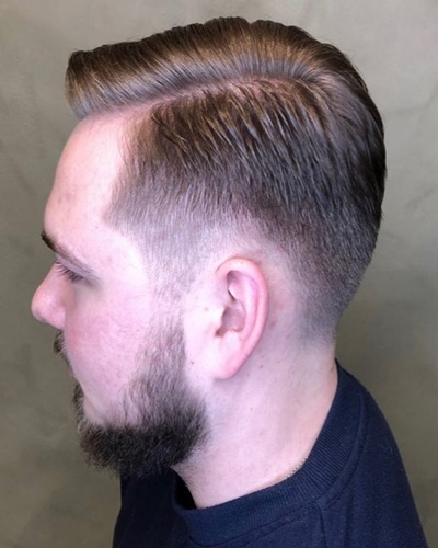 Classic Low Fade Short Hairstyles for Men