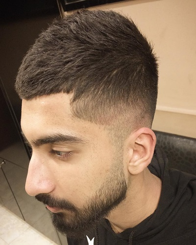 Short Hairstyles for Men with Fades