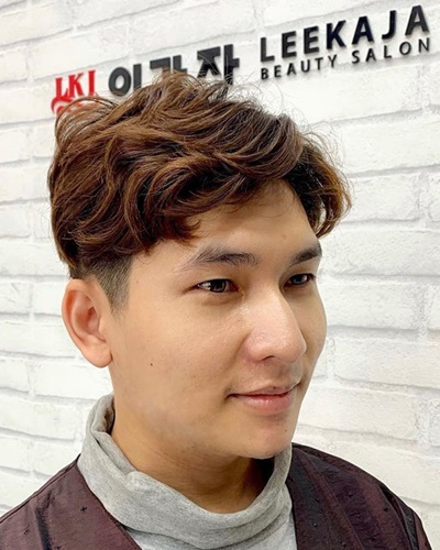 Korean Wavy Hairstyle