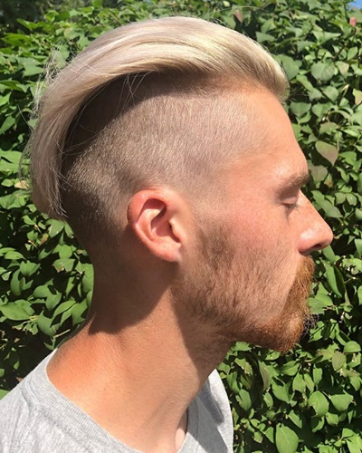 Clean Undercut With Long Slicked Back Top