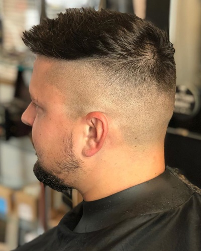 Simple Undercut With Goatee