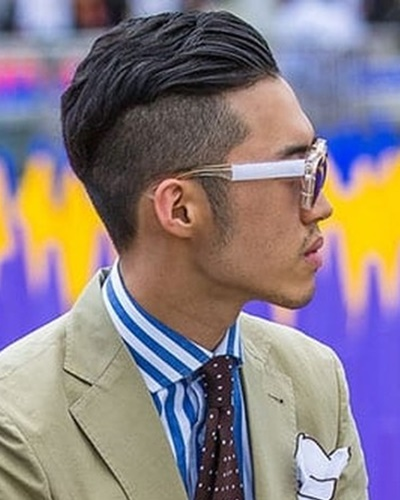 Business Disconnected Undercut Hairstyles