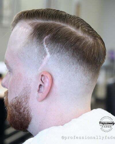 Classy Bald Fade Haircuts