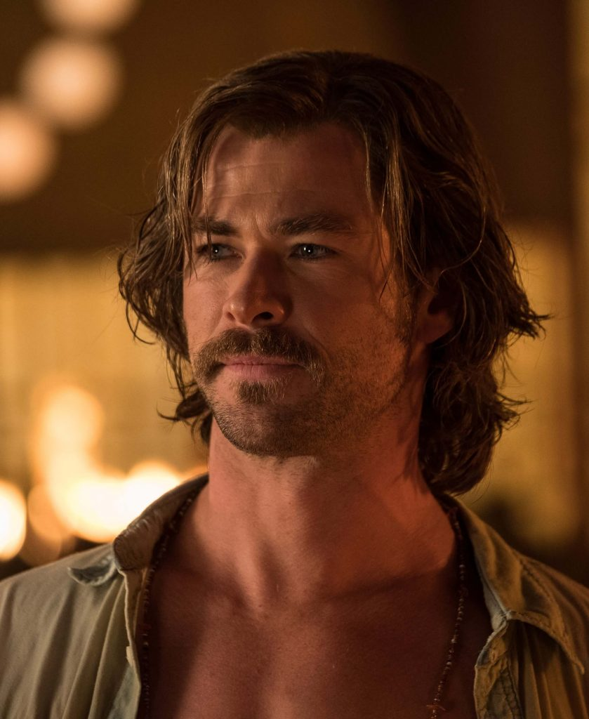 Billy Lee Messy Retro Shag Cut in Bad Times at the El Royale