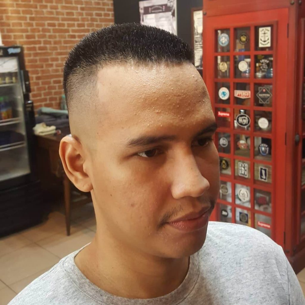 Bristle High and Tight Caesar Cut