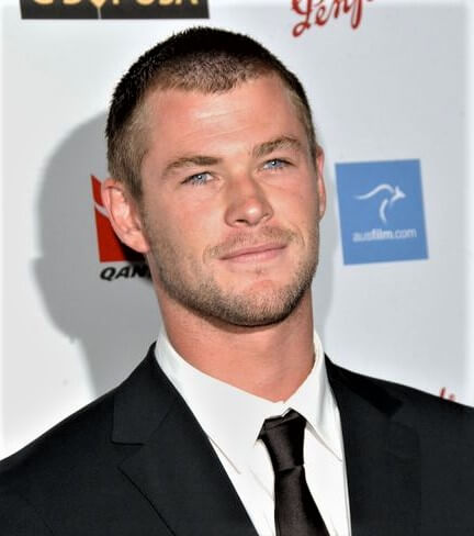 Buzz Cut 2009 Chris Hemsworth Hairstyle