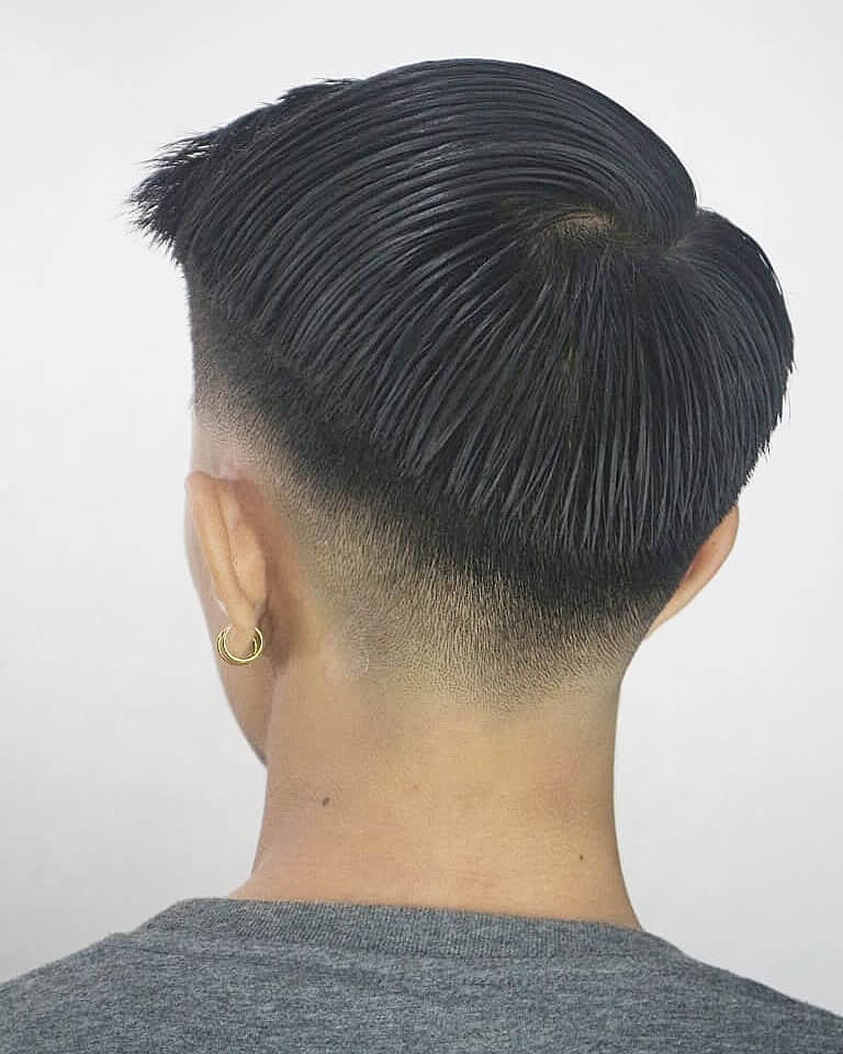 Curved Medium Taper Low Fade French Crop Hairstyle