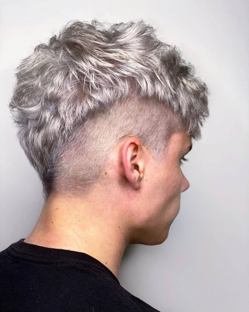Disconnected V-shape Tapered Undercut and Textured Top