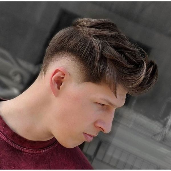 Fade Undercut with Piecey Mohawk