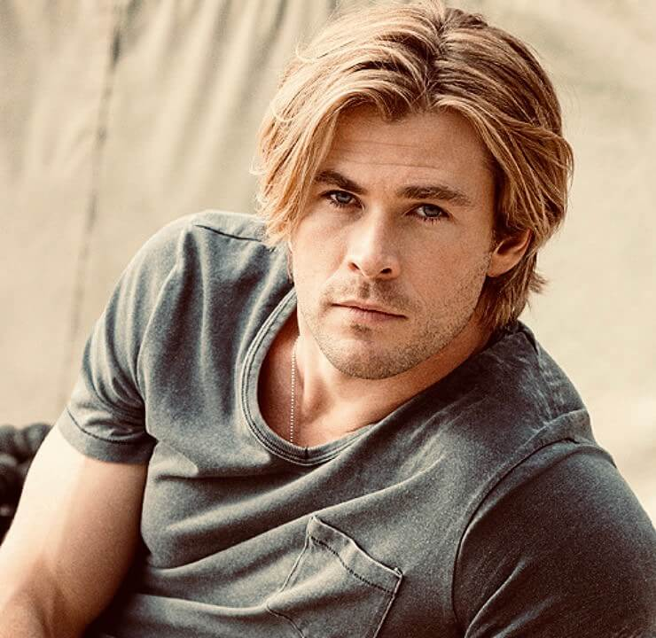 Flow Hairstyle on Young Chris Hemsworth