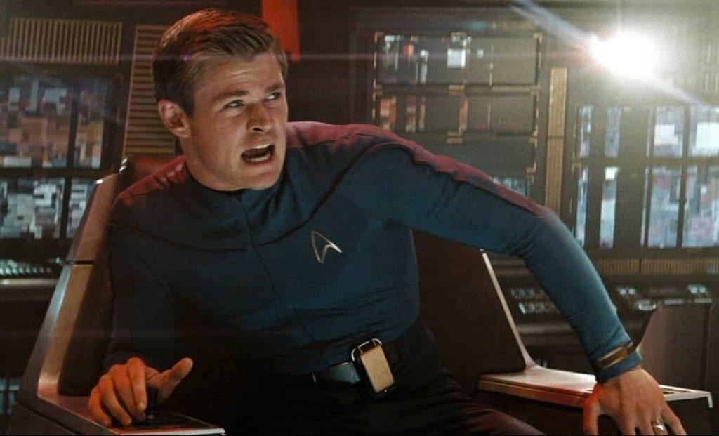 George Kirk Star Trek 2009 Slick Quiff Haircut