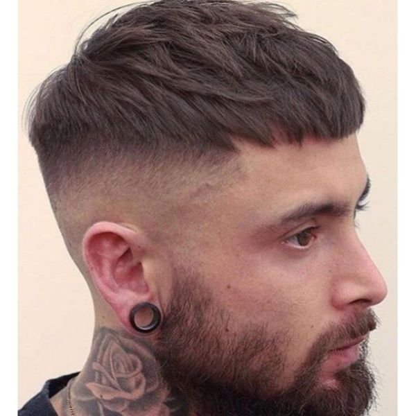 High Fade Disconnected Undercut Hairstyles