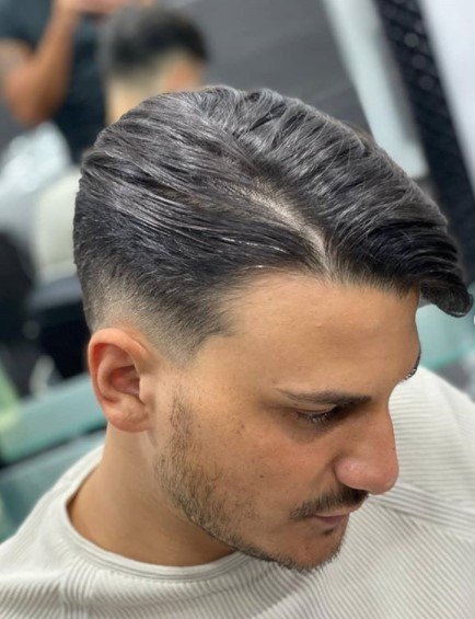 Low Fade Undercut with Soft Part