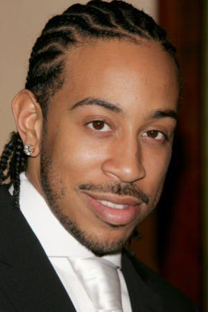 Ludacris' Braids with Wavy Sections