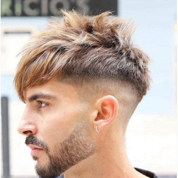 Messy Spiky Disconnected Undercut Hairstyles