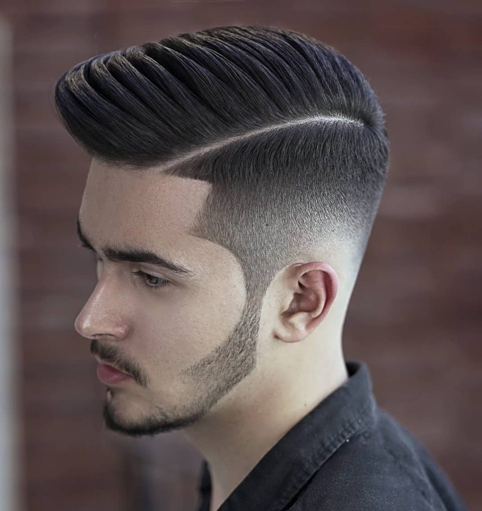 Man With Long Quiff