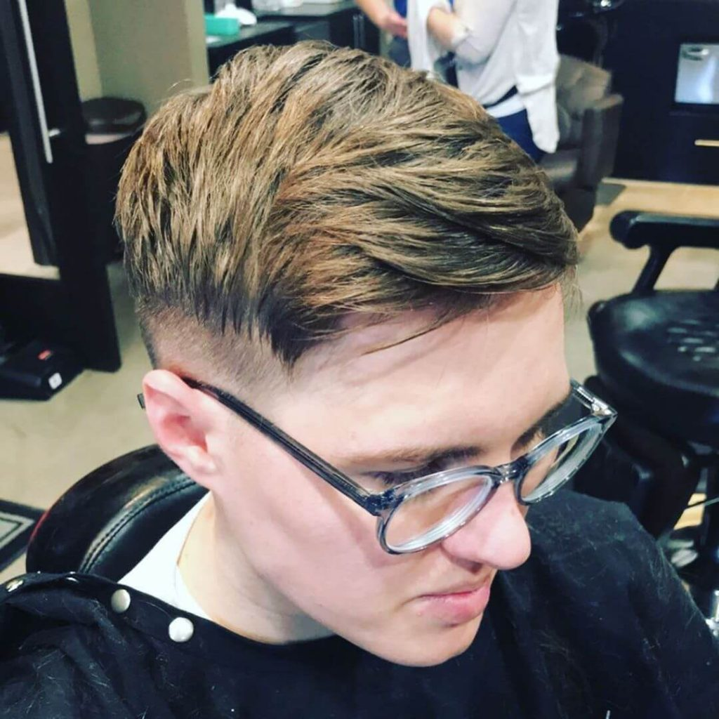 Quiff French Crop and Disconnected Tapered Undercut