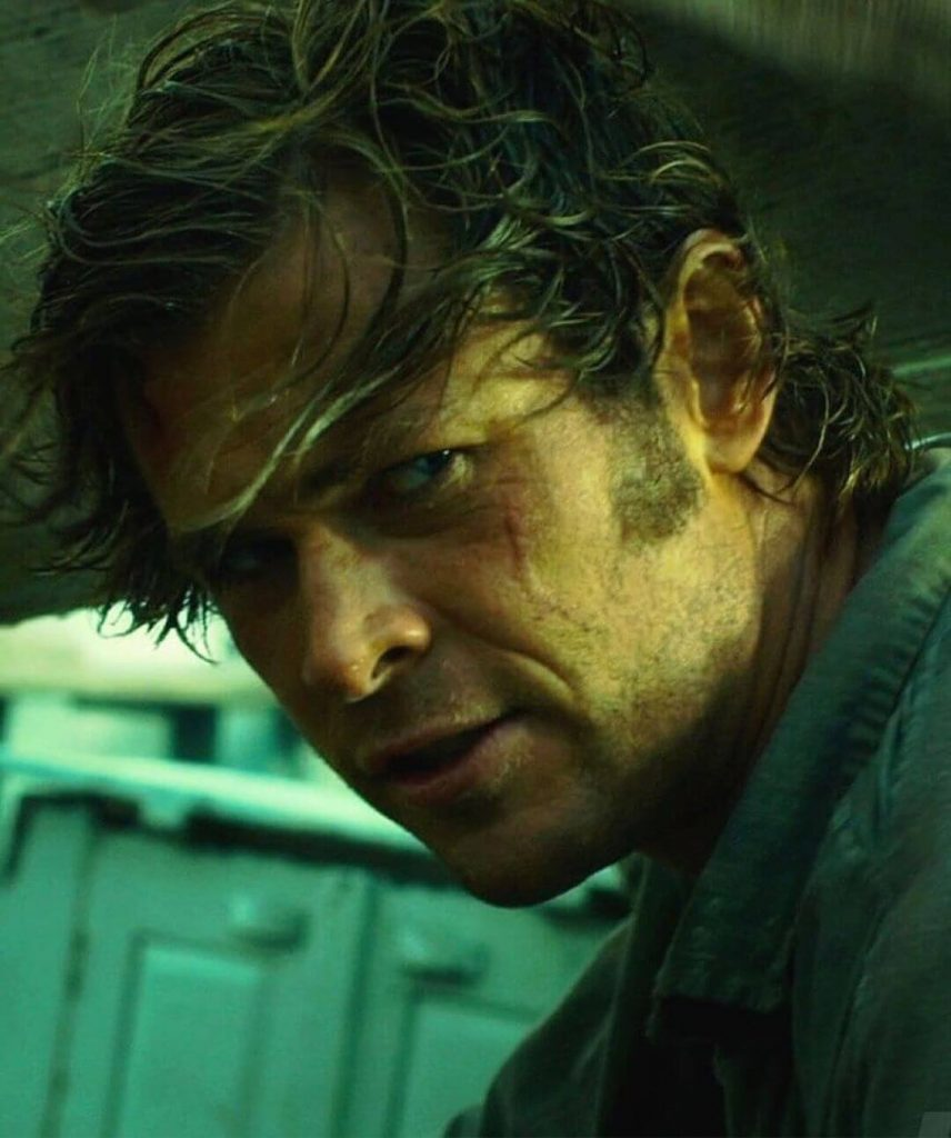 Shaggy Side Part Haircut as Owen Chase In the Heart of the Sea