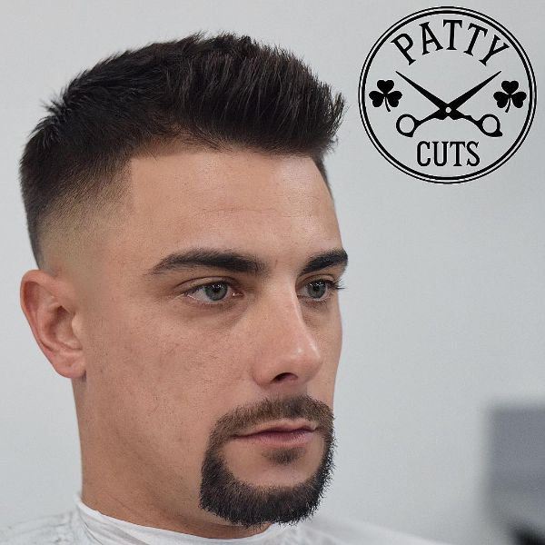Short Brush Haircut for Men