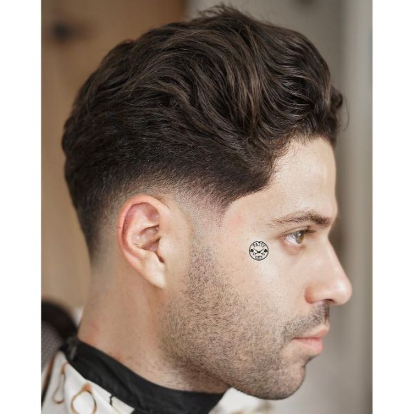 Short Undercut with Chunky Layered Top