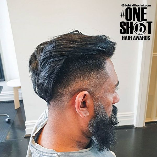 Skin Fade Short Haircut with Long Mohawk
