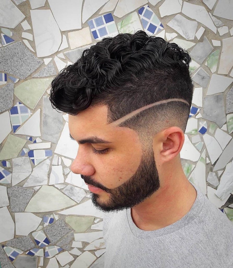 Surgical Line Medium Fade Undercut with Textured Top