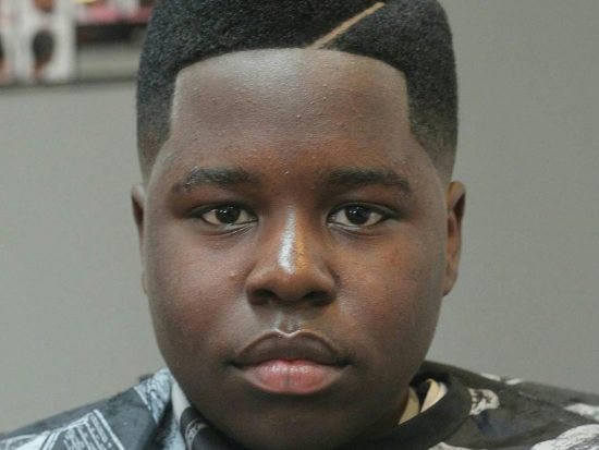 Flat Top Juice Box Fade with short line