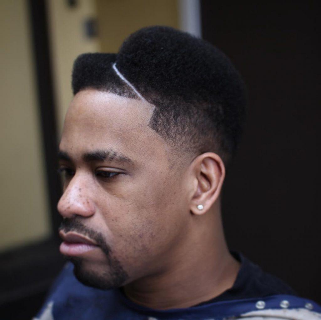 Round Hi-Top Juice Fade Haircut