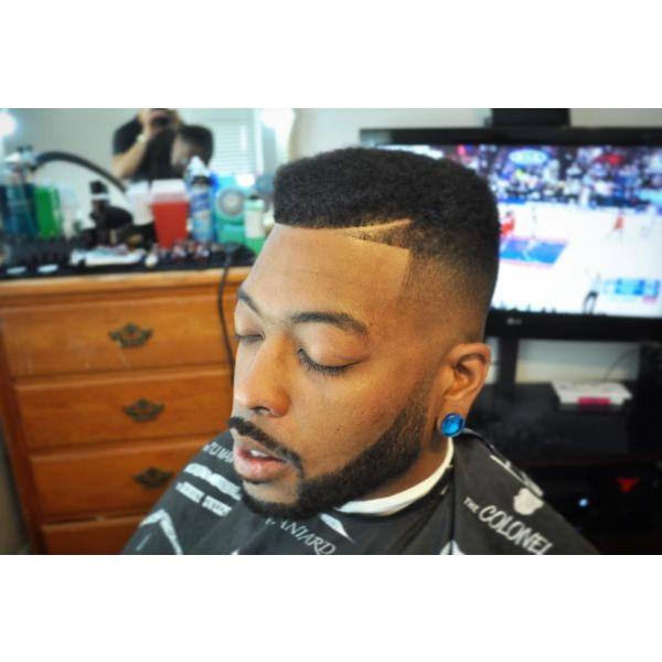 Subtle Flat Top Juice Box Haircut