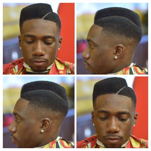 Tapered Hi-Top Juice Box Haircut