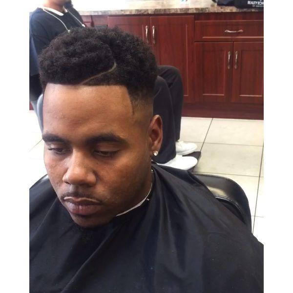 Textured High Top Juice Box Haircut
