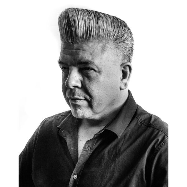 Classic Flat Top for Grey Hair