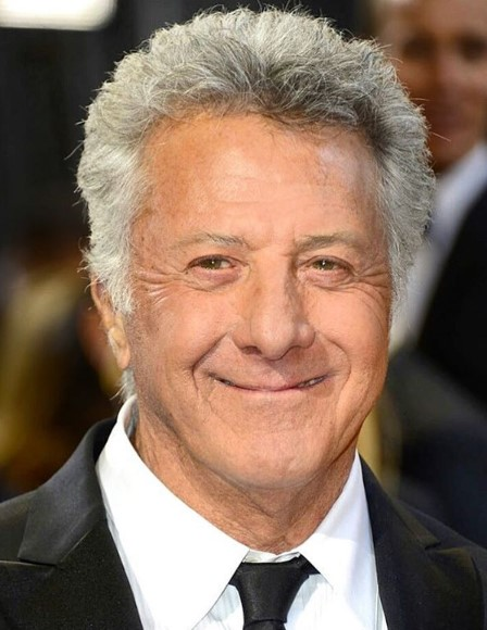 Dustin Hoffman's Short Hairstyle for Older Men