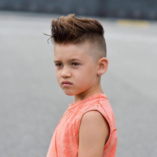 Fake Mohawk for Skin Fade Boys Haircut