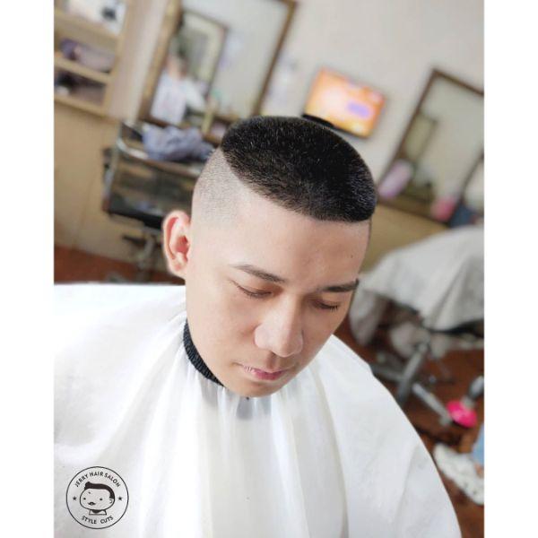 High and Tight Recon Korean Haircut