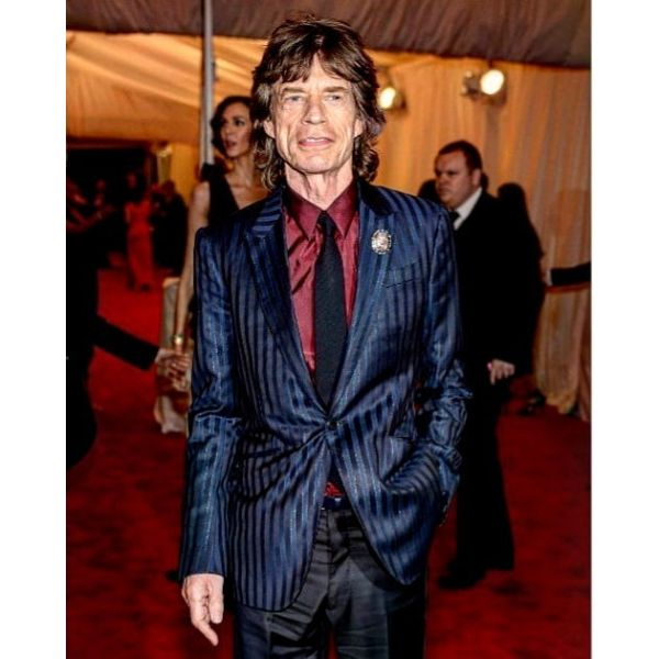 Mick Jagger's Shaggy Hairstyle for Older Men