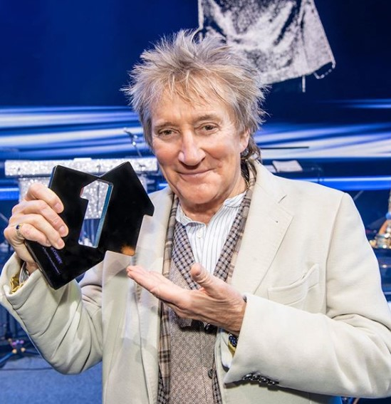Rod Stewart's Messy Layered Haircut for Natural Hair