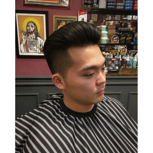 Shape Up Fade with Pompadour Styling
