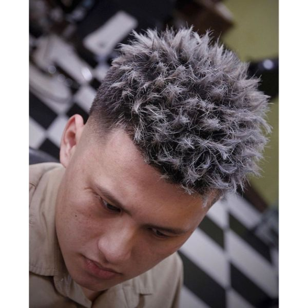 Shape Up with Highlighted Wispy End Haircut for Korean Men