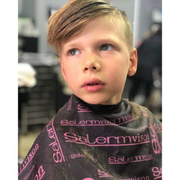 Side-swept Long Top Hairstyle