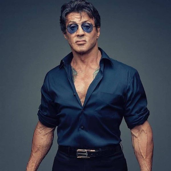Sylvester Stallone's Iconic Look
