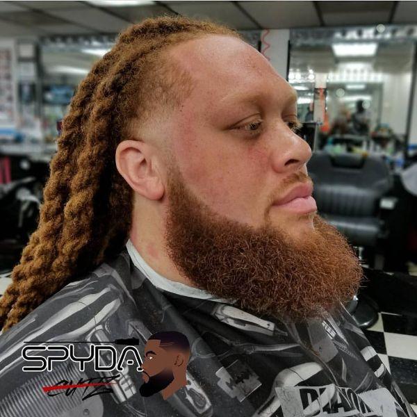 Twisted Dreadlocks for Ginger Hair