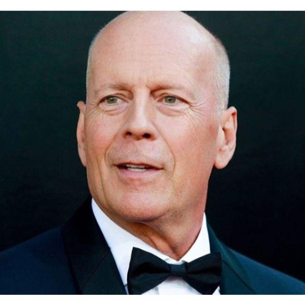Bruce Willis' Stubby Fade