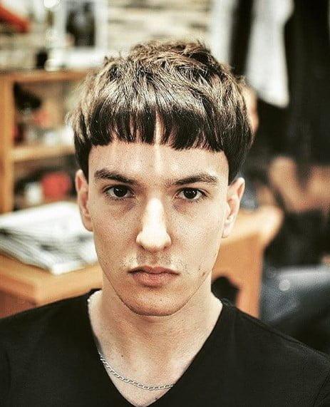 Caesar Cut Men Haircuts