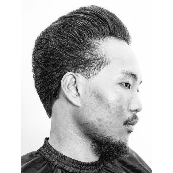 Classic Pompadour Hairstyles For Asian Men