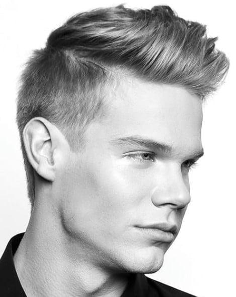 Classic Quiff Men Haircuts