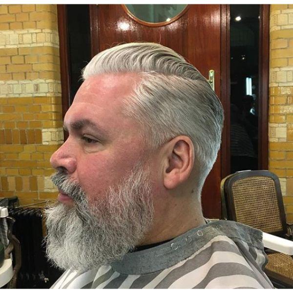 Classic Taper Fade for Older Men