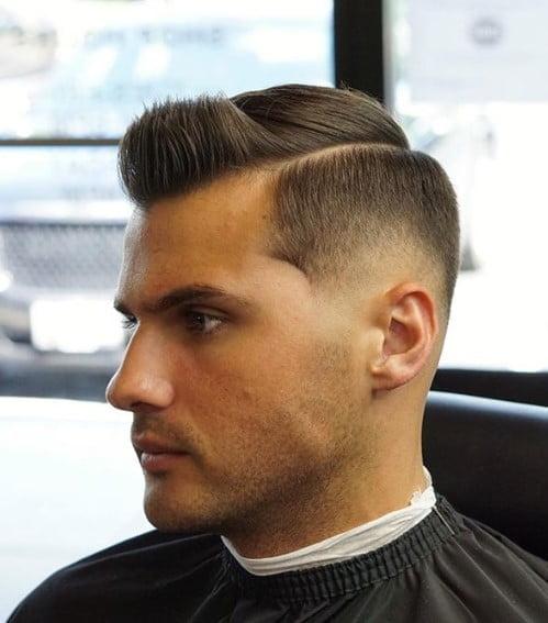 Comb Over Fade