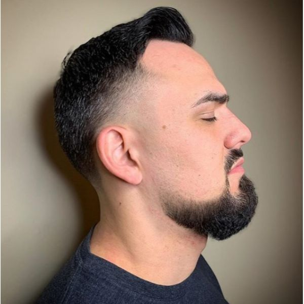 Combover Taper Hairstyle