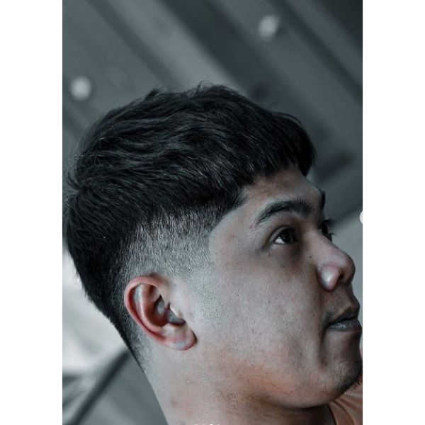 Crop Chop with Low Fade